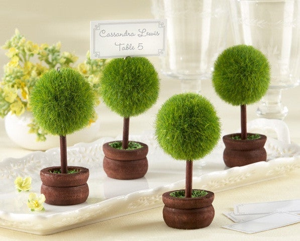 Topiary Photo / Place Card Holder Wedding Favours