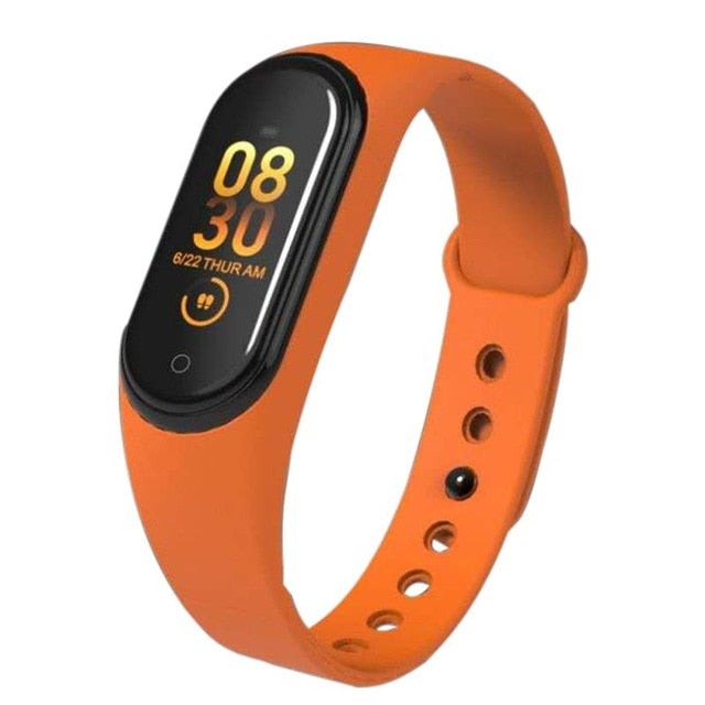 Smartband M-4 - Fitness & Health Tracker + Social Media - The Latest Model of 2019