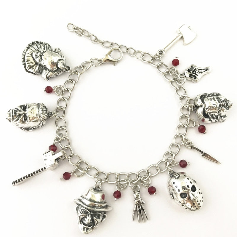 Horror Inspired Charm Bracelet - You will just Love it