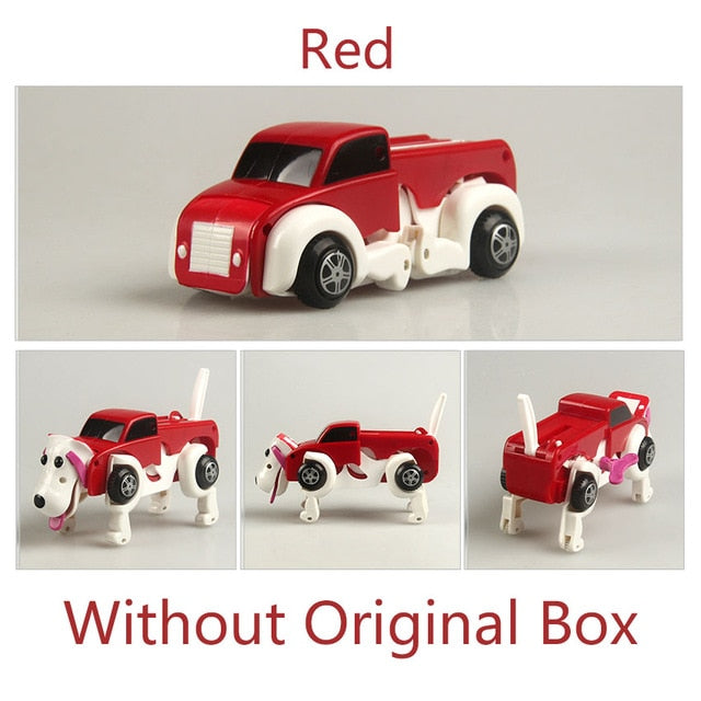 Amazing Automatic Transforming Dog - Car Windup Toy