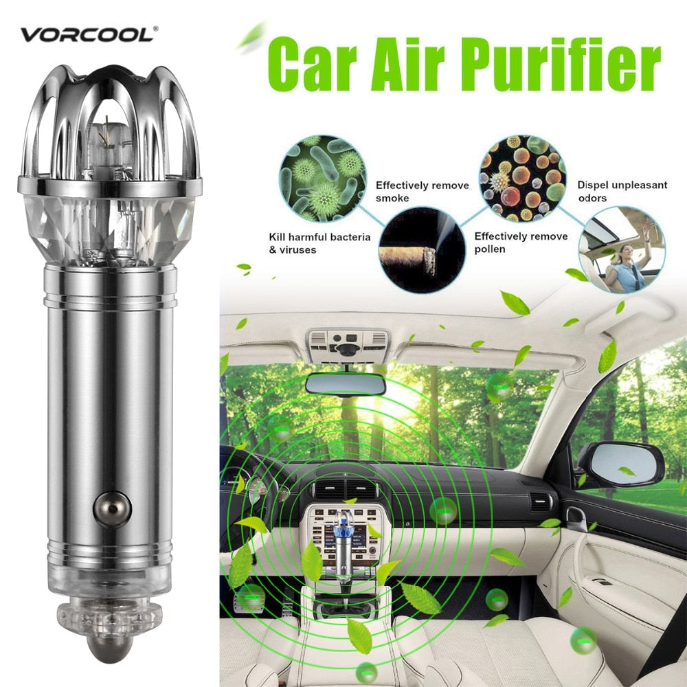Car air purifier ( Removes cigarettes smell )