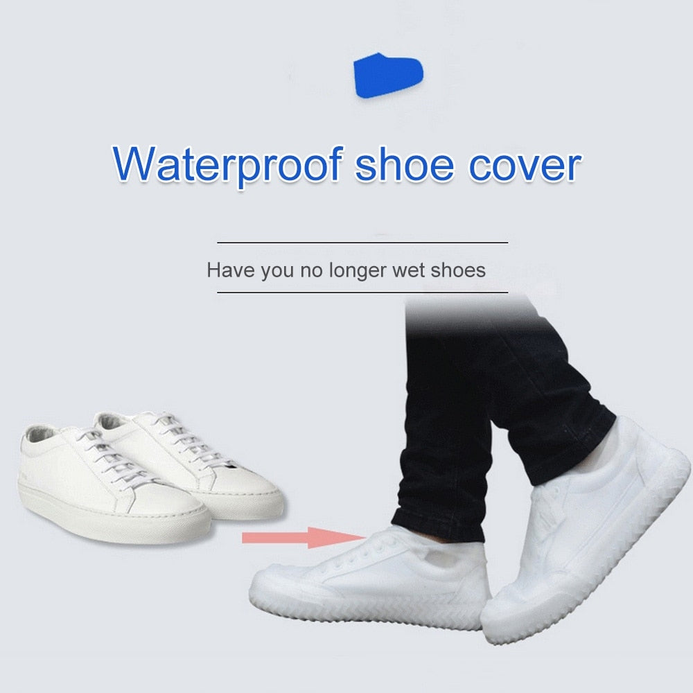 Waterproof Silicone Shoe Covers - Perfect for those Rainy Days