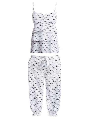 Cami and Quarter Pants Pooch PJ Set