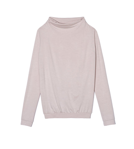 Baby Pink Long Sleeve Top