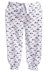 Pyjama Quarter Pants in Pooch