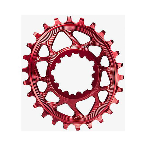 Absolute Black GXP / DUBB  SRAM DM OVAL - BOOST OFFSET - RED