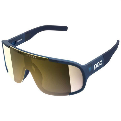 POC - ASPIRE CLARITY SUNGLASSES - LEAD BLUE