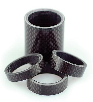 "1-1/8"" Carbon Fibre Spacer 10mm"