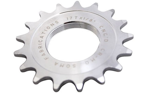 TRACK COGS - CHROME - 1/8