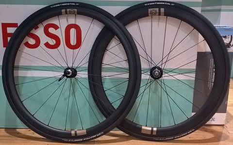 Carbon Clincher Road Disc or Cyclocross Wheelset