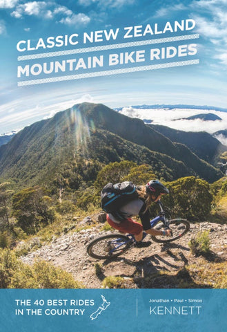 Classic New Zealand Mountain Bike Rides 10th Ed Book