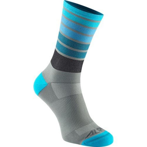 Madison Alpine MTB Bay Blue Stripes Socks