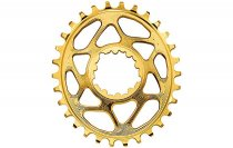 AbsoluteBlack GXP / DUBB SRAM DM OVAL - BOOST OFFSET - GOLD
