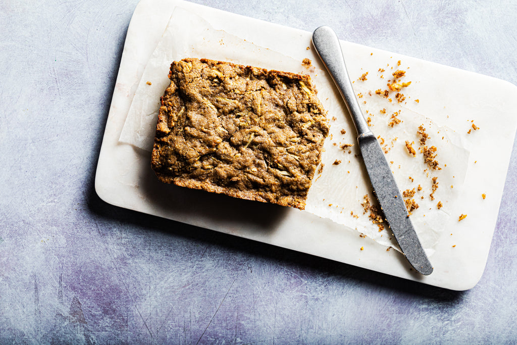 Chickpea Flour and Parsnip Cake