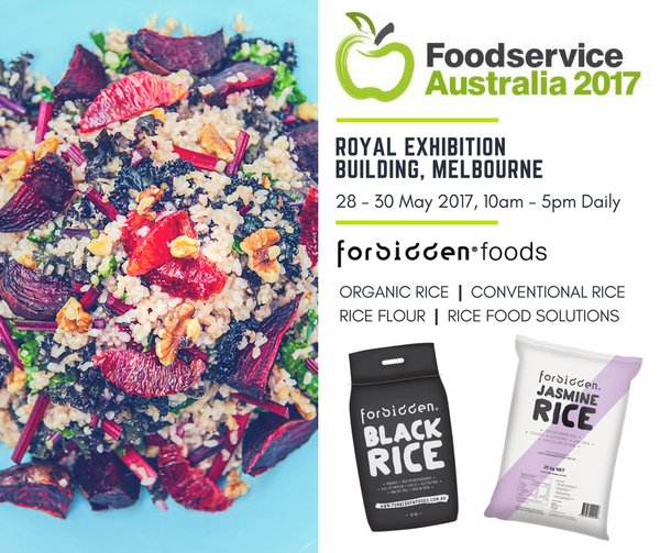 Forbidden Foods Rice Supplier Australia Foodservice 2017