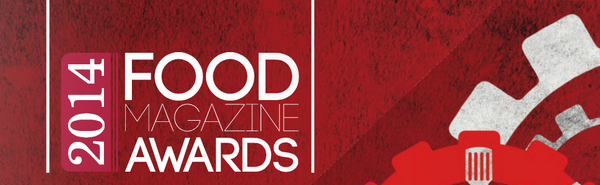 Food Magazine Awards - Forbidden Foods is a finalist
