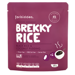 Forbidden Brekky Rice Organic Microwaveable 125g