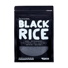 Forbidden Organic Black Rice 500g