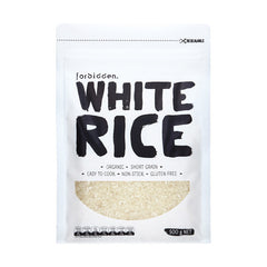 Forbidde Organic White Rice 500g