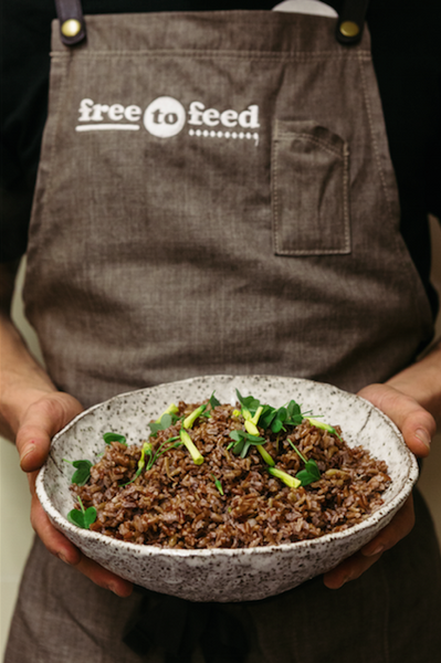 Free to Feed Melbourne - Red Rice by Forbidden Foods