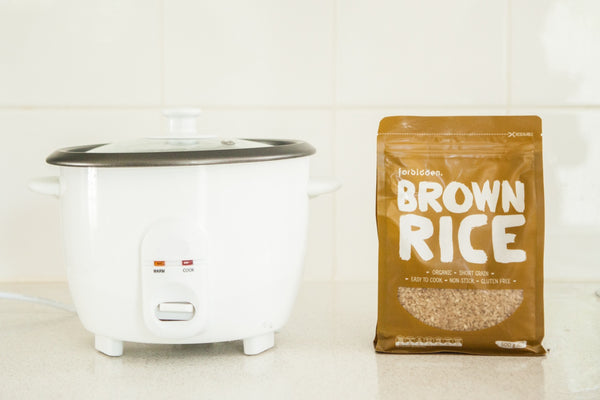 Can you cook brown rice in a rice cooker?