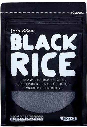 Forbidden Organic Black Rice