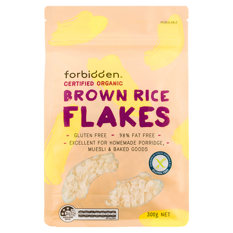 Gluten Free Brown Rice Flakes