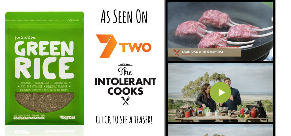 Green Rice on 7TWO recipe show Intolerant Cooks