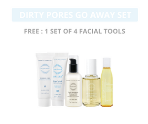 Dirty Pores Go Away Set ( Frequent Makeup)