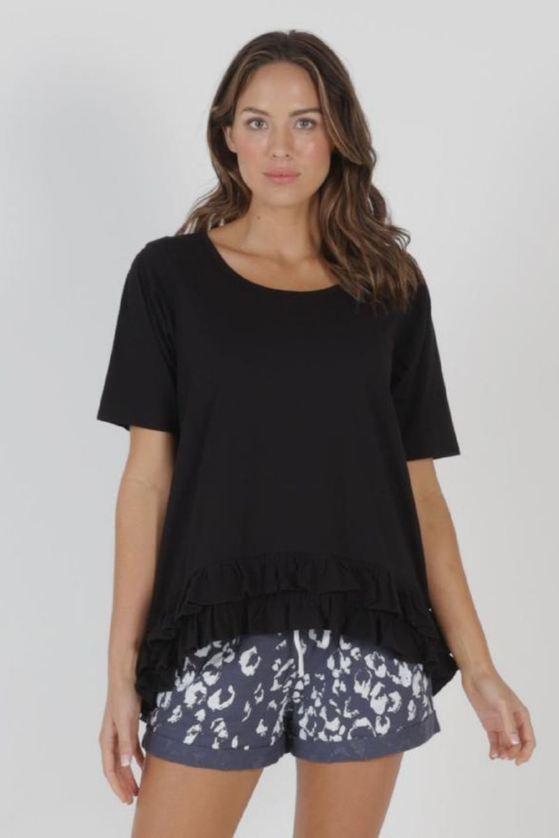 Sorrento Tee Indi Black
