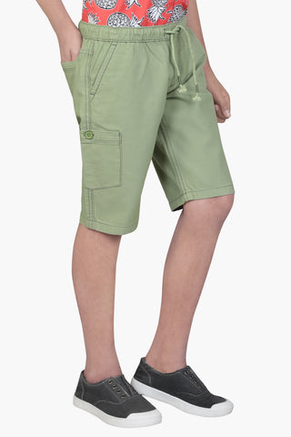 PRINCE SHORT PANT OLIVE (2-5 Years)