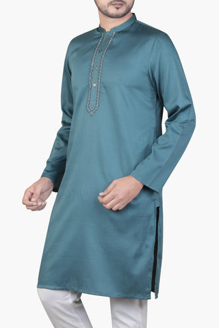 MEN'S PANJABI VENICE BLUE