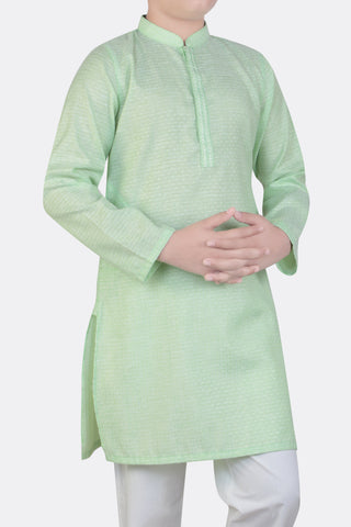 BOYS PANJABI GREEN (8-15 Years)