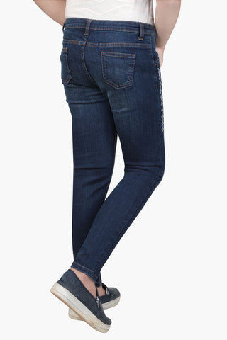 GIRL DENIM PANT INDIGO (6-9 YEARS)