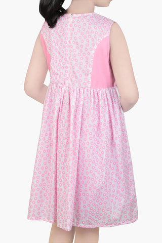 GIRLS DRESS PINK  (2-5 Years)