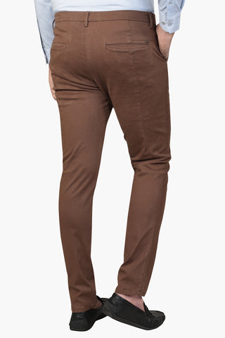 Men's Twill Pants TABACO BROWN