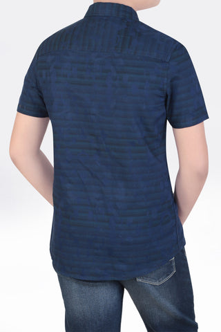 Junior Boy's Shirt NAVY (10-15 years)