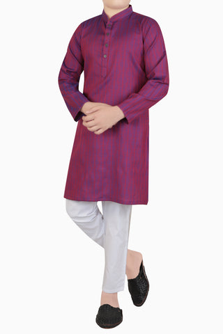 Boys Panjabi RED (0-7 years)