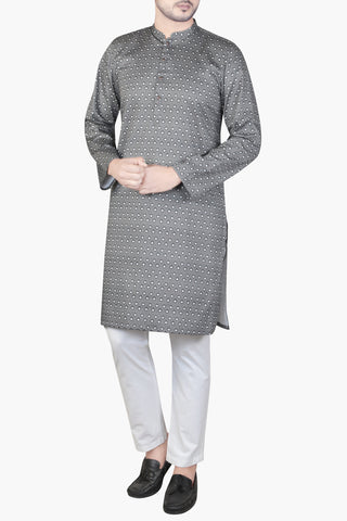 MENS PANJABI WOOD SMOKE