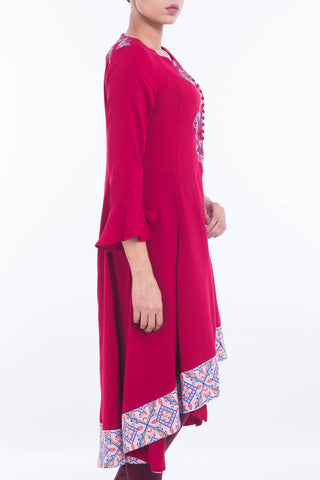Women's Ethnic MAROON