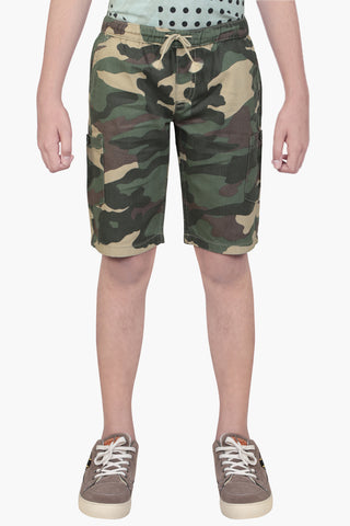 PRINCE SHORT PANT CAMO(6-9 Years)
