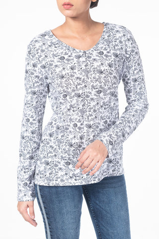 Women's Full Sleeves T-Shirts BLANCO P2