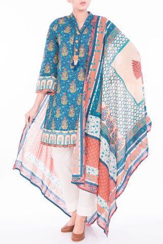 Women's Lawn ( 3 PIECE ) HERITAGE BLUE