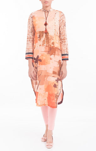 Women's Kurti RUSTY ORANGE
