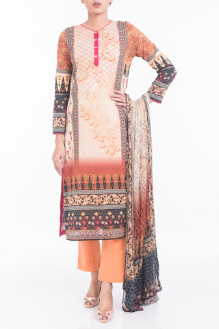 Women's Lawn ( 3 PIECE ) BROWN