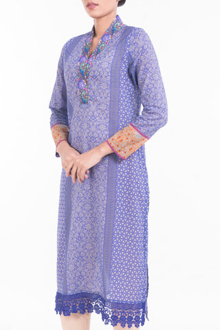 Women's Lawn ( 3 PIECE ) PURPLE