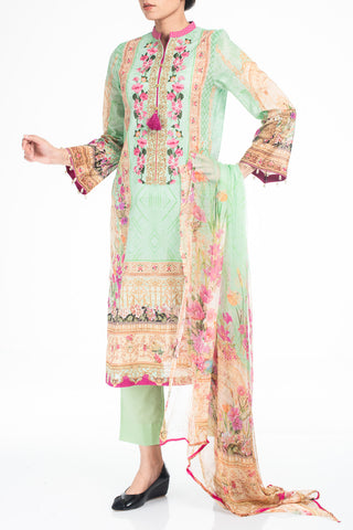 Women's Lawn  LIGHT GREEN (3 Piece)
