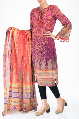 Women's Lawn PLUM (2 Piece)