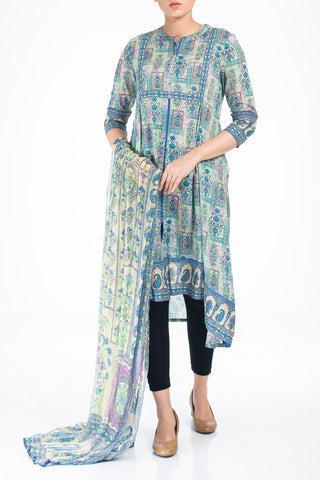 Women's Lawn TURQUISE BLUE