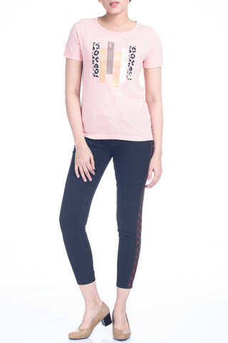 Women's T-Shirt - M Rose